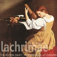 Dowland: Lachrimae — Thurston Dart, Philharmonia of London, Джон Доуленд