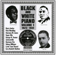 Black And White Piano Vol. 1 (1923-1931) — Various Artists - Document Records