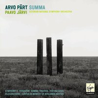 Pärt: Summa etc. — Estonian National Symphony Orchestra, Paavo Järvi