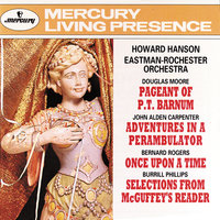 Howard Hanson Conducts - Moore/Carpenter/Rogers/Phillips — Eastman-Rochester Symphony Orchestra, Howard Hanson