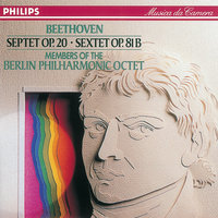 Beethoven: Septet in E flat/Sextet in E flat — Berlin Philharmonic Octet, Manfred Klier