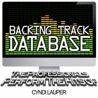 Backing Track Database - The Professionals Perform the Hits of Cyndi Lauper — The Professionals