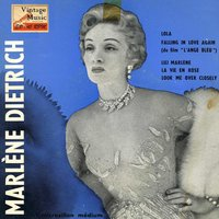 "Vintage Vocal Jazz / Swing Nº19 - EPs Collectors ""Marléne Dietrich At Café De Paris"" — Marlene Dietrich"
