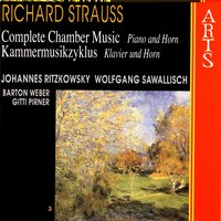 Strauss: Complete Chamber Music - 3 Piano & Horn — сборник