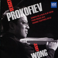 Prokofiev: Piano Sonata No.8; Four Pieces; Visions Fugitives — Сергей Сергеевич Прокофьев, Jerry Wong