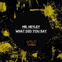 What Did You Say — Mr. Heyley