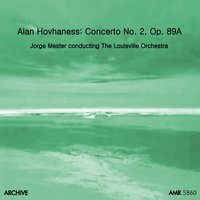 Hovhaness: Concerto No. 2 for Violin and String Orchestra, Op. 89a — Alan Hovhaness, Carlos Surinach, MGM Chamber Orchestra