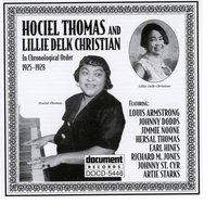 Hociel Thomas and Lillie Delk Christian (1925-1928) — Hoceil Thomas and Lillie Delk Christian