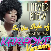 I Never Knew (In the Style of Gloria Gaynor) — Ameritz - Karaoke