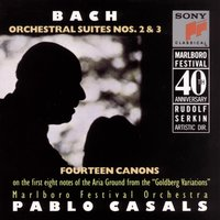 Bach:  Orchestral Suites — Marlboro Festival Orchestra, Pablo Casals