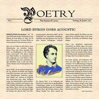 Lord Byron Goes Acoustic — Poetry
