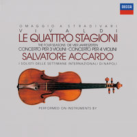Vivaldi: The Four Seasons; Concertos for 3 & 4 violins — Salvatore Accardo, I Solisti Di Napoli