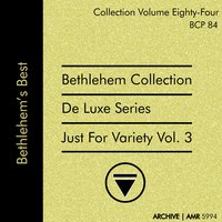 Deluxe Series Volume 84: Just for Variety, Volume 3 — Chris Connor