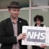 Love You, NHS — National Health Action Party Campaign Band