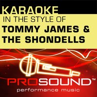 Karaoke - In the Style of Tommy James and the Shondells - EP — Karaoke
