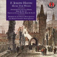 Haydn: Divertimento in E-flat Major, Partita in E-flat Major - Krommer: Partita in C Minor — Йозеф Гайдн, Prague Wind Quintet, Miami University Wind Quintet