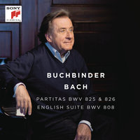 Bach: Partitas, BWV 825 & 826 - English Suite, BWV 808 — Rudolf Buchbinder