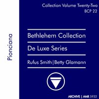 Deluxe Series Volume 22: Poinciana — Rufus Smith, Betty Glamann
