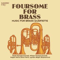 Foursome for Brass — Anon, William Rimmer, Henry Bishop, Gilbert Vinter, Ciro Pinsuti