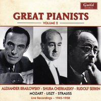 Great Pianists - Vol. 2, Brailowsky, Cherkassky, Serkin — сборник