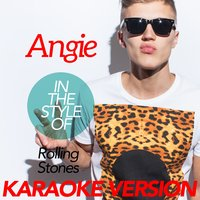 Angie (In the Style of Rolling Stones) - Single — Ameritz Karaoke Classics