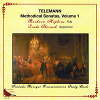 Telemann Methodical Sonatas, Vol. 1 — Barbara Hopkins
