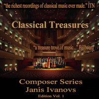 Classical Tresures Composer Series: Janis Ivanovs, Vol. 1 — USSR State TV and Radio Symphony Orchestra, Alexander Gauk