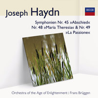 Haydn Symphonien Nr. 45, Nr. 48 & Nr. 49 — Frans Brüggen, Orchestra Of The Age Of Enlightenment