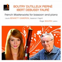 French Masterworks for Bassoon and Piano — Клод Дебюсси, Laura Bennett Cameron, Roger Boutry