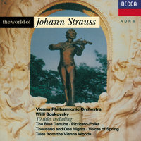 Strauss, J.II: The World of Johann Strauss — Anton Karas, Wiener Philharmoniker, Willi Boskovsky
