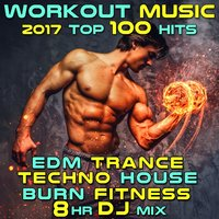 Workout Music 2017 Top 100 Hits EDM Trance Techno House Burn Fitness 8 Hr DJ Mix — сборник