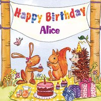 Happy Birthday Alice — The Birthday Bunch