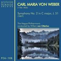 Carl Maria von Weber: Symphony No. 2 in C Major, J. 51 — Карл Мария фон Вебер, Willem van Otterloo, The Hague Philharmonic
