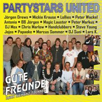 Gute Freunde kann niemand trennen — Partystars United, Partystars United with Jürgen Drews, Mickie Krause, Lollies, Peter Wackel, Antonia, BB Jürgen, Magic Lauster, Peter Markus, DJ Mox, Chris Marlow, Handclubbers, Steve Young, Jojos, Papaoke, Marcus Sommer, DJ Suni & Lars K.