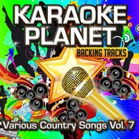 Various Country Songs, Vol. 7 — Karaoke Planet, A-Type Player