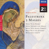 Palestrina: 5 Masses — The Choir Of King's College, Cambridge, Choir Of St. John's College, Cambridge, Choir Of The Carmelite Priory, London