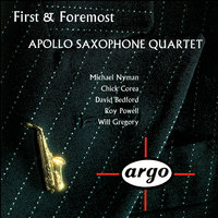 First & Foremost — Apollo Saxophone Quartet
