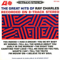The Great Hits of Ray Charles Recorded on 8-Track Stereo — R. Charles