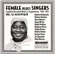 Female Blues Singers Vol. 12 M/O/P/Q/R (1922-1935) — Various Artists - Document Records