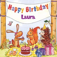 Happy Birthday Laura — The Birthday Bunch