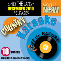 December 2010: Country Hits Karaoke — Off the Record Karaoke