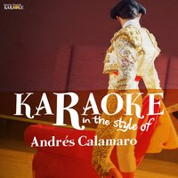 Karaoke - In the Style of Andrés Calamaro — Ameritz Spanish Karaoke