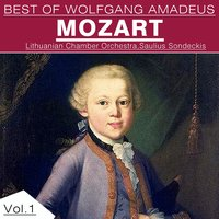 Best of Wolfgang Amadeus Mozart, Vol. 1 — Вольфганг Амадей Моцарт, Lithuanian Chamber Orchestra, Saulius Sondeckis