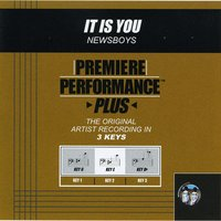 It Is You (Premiere Performance Plus Track) — Newsboys