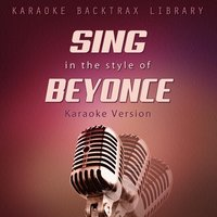Sing in the Style of Beyonce — Karaoke Backtrax Library