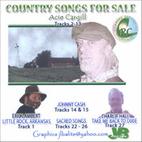 Songs For Sale — Acie Cargill, Johnny Cash, Eric Lambert