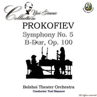 Prokofiev: Symphony No. 5 B-Dur, Op. 100 - Shostakovich: The Assault of Red Mountain, F-Dur, Op. 89a  & Symphony No. 9, Es-Dur, — Юрий Симонов, Russian Music Society, Cristina Botnari, Iurii Botnari, Bolshoi Theater Orchestra, Yuri Siminov, Сергей Сергеевич Прокофьев, Дмитрий Дмитриевич Шостакович