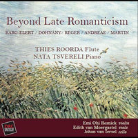Beyond Late Romanticism — Thies Roorda, Flute