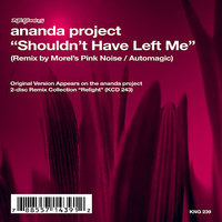 Shouldn't Have Left Me — Ananda Project