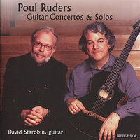 Poul Ruders: Guitar Concertos and Solos — Donald Palma, Speculum Musicae, David Starobin, Odense Symphony Orchestra, Jan Wagner
